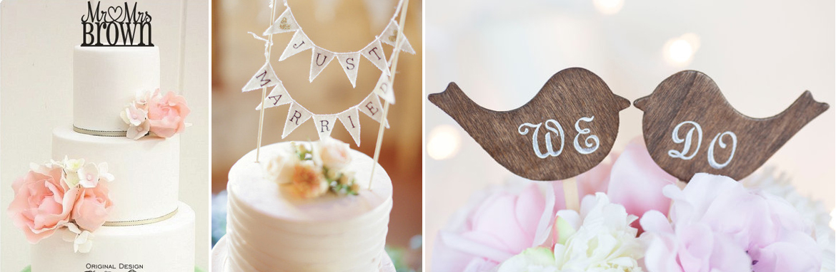 Wedding cake topper ideas