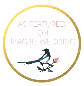 Magpie weddings feature